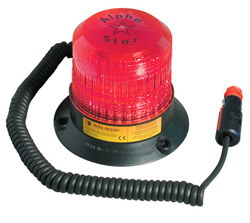 Alpha Star Magnetic Fixing - Red