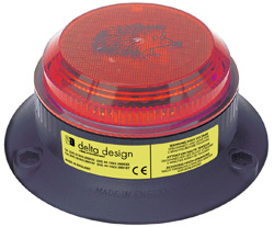 Hedgehog Xenon Beacon - Red