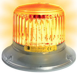 Orion LED Beacon (EU fixing) - Amber