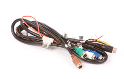 CCTV accessory Cable Adaptor. 22pin Av and Power Supply