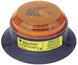 Hedgehog LED Beacon - Amber 20-100Vdc