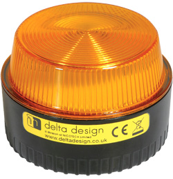 LP Xenon 1W Beacon - Amber Multivoltage