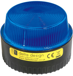 LP Xenon 1W Beacon - Blue Multivoltage