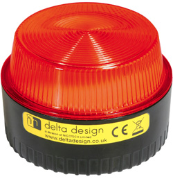 LP Xenon 1W Beacon - Red Multivoltage