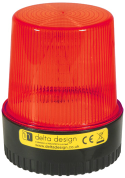 LT Xenon 5W Beacon - Red 12V