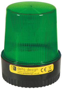 LT Xenon 5W Beacon - Green 24V